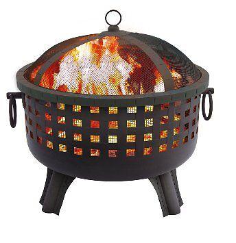 Landmann 26364 23-1/2-Inch Savannah Garden Light Fire Pit, B