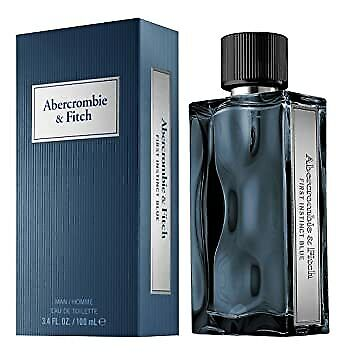 FIRST INSTINCT BLUE by Abercrombie & Fitch Men Cologne EDT 3.4oz New & Sealed