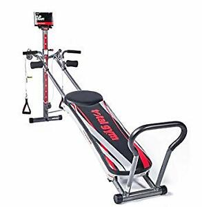 Total Gym Titanium with 4 DVDs and Exercise Flip Chart