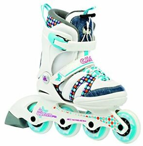 K2 Charm Pro,Rollerblades, Girls/Youth, Softboot, 1-5, like NEW