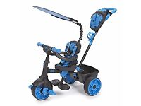 Little Tikes 4 - in - 1 Deluxe Edition Trike - Neon Blue