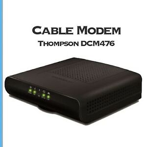 Cable modem Thompson DCM476