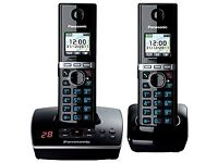PANASONIC Cordless answer phone (Twin Pack)