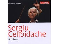 Bruckner conducted by Celibidache - 3 Classical CDs