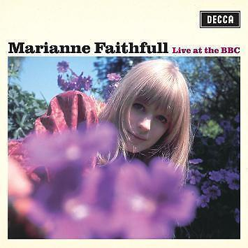 MARIANNE FAITHFULL Live At The BBC CD BRAND NEW