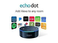Echo Dot 2nd Generation NEW - BLACK