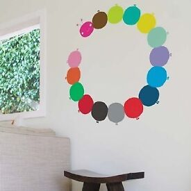 Caterpillar wall stickers / wall decal for baby / childrens bedroom by Blik