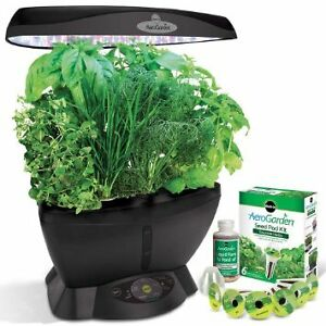 Miracle Gro Aerogarden Classic 6 with gourmet herb seed kit