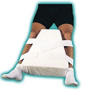 Abduction pillow for after hip surgery