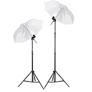 TWO UMBRELLA LIGHTS PHOTOGRAPHY FOR SALE!