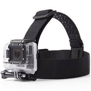 Head mount strap accessory for Gopro Hero 5 / Hero 4 etc.