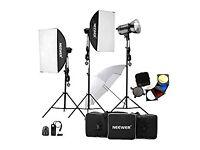Neewer® 900W(300W x 3) Professional Photography Studio Flash Strobe Light Lighting Kit