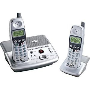 AT&T Cordless Phone with Dual Handsets and Answering System  $48