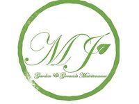 MJ Garden, Tree, Hedge & Grounds maintenance