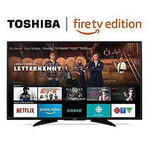 TOSHIBA 55 LED 4K HDR FIRE EDITION SMART UHDTV *NEW IN BOX*