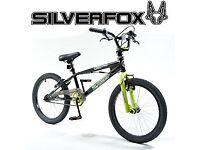 Silverfox 20 inch Resistance BMX Bike