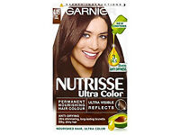 Garnier Nutrisse 4.15 Iced Coffee Brown Hair Dye- from a smoke free place