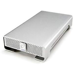 4TB  G-DRIVE USB 3.0 External Hard Drive - Silver