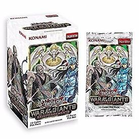 Yu-Gi-Oh! Exclusive War Of The Giants Reinforcements Booster Box (10 Packs)