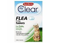 Flea Tablets for Cats, Small dogs/puppies
