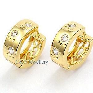 18k Gold Filled Earrings