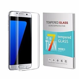 GENUINE Samsung tempered glass screen protector for Samsung S6 Edge S7 Edge S8 Edge