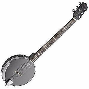 Banjo 6 cordes open-back BJWOPEN6 Stagg Banjitar