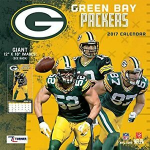 2017 Green Bay Packers Calendar