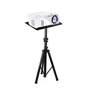 Pyle PLPTS7 Laptop Projector Stand, Heavy Duty Tripod.