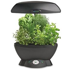 Aerogarden Space Saver 6 + 6 Herb Pods + Plant Food + New Bulbs