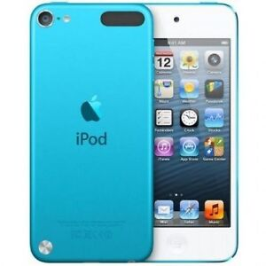Blue Apple iPod 5th Generation With 64 GB Memory And Case!