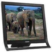 """Sony X-Brite SDM-HS95P/B 19"""" LCD Monitor (Black)"""
