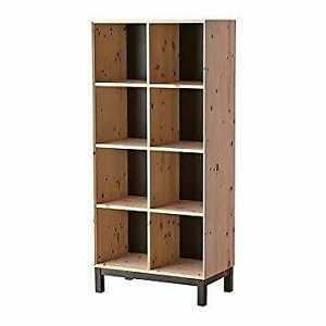 Untreated solid pine Bookcase