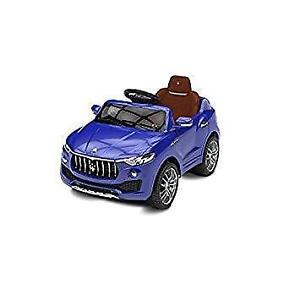 Best Ride On Cars MASERATI 6V Electrical Car  Blue (Assembled)
