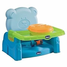NEW Chicco Mr Party Booster Seat - Blue