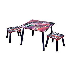 Disney Cars Table and 2 stools