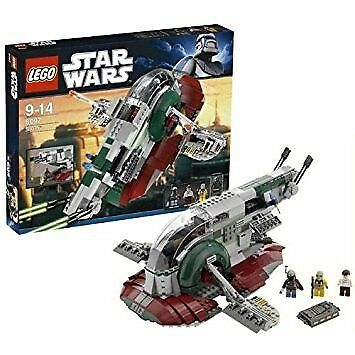 Lego Star Wars 8097 Slave 1 With All Pieces And Instructions In