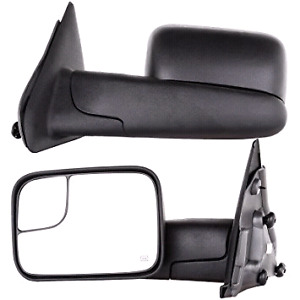 Power Heated Tow--2002-2008 Dodge Ram replacement tow mirrors --