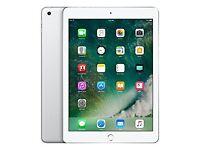 "Brand New in Box Apple iPad 9.7"" 2017 32GB Wi-Fi Silver With Warranty"