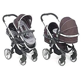 Icandy Peach Blossom (Double) Pram life time warranty