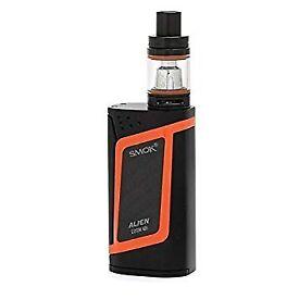 Brand New! Smok Alien 220W Kit - Black/Orange - With 2 x 18650 Batteries
