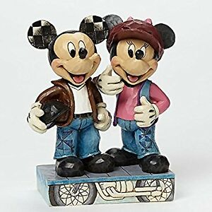 Disney Traditions by Jim Shore Biker Mickey And Minnie