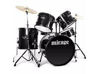 ((REDUCED)) Mirage Raven Drum Kit