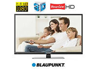 """TV Blaupunkt LED 3D Full HD 42"""" USB Record +3D glasses In excellent Working and Cosmetic Condition."""