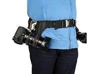 Eggsnow Camera Waist Holster Belt Buckle Kit for Canon Nikon Sony Cameras