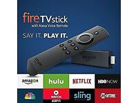 New Amazon Fire TV Stick 2nd Generation. Movies, Sports,Kids Box Sets