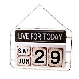 NEW Sass & Belle 'Live For Today' Wall Sign - £20