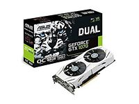 New Asus Geforce GTX1070 8GB Gddr5 Dual OC Edition
