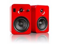 KANTO YUMI Active bookshelf speakers (Bluetooth) Very crisp HiFi.