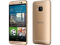 New Unlocked HTC One M8 Amber Gold 16GB Android New Phone sealpack Network Factory